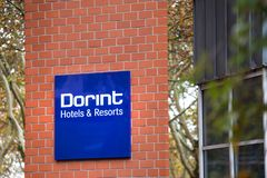 Dorint hotels sign dortmund germany royalty free stock photography
