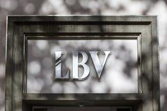 Lbv sign in dortmund germany. Dortmund, North Rhine-Westphalia/germany - 22 10 18: lbv sign in dortmund germany stock images