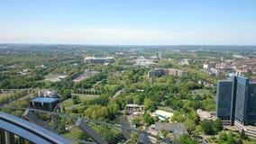 Dortmund park NRW Aussicht Florian Turm Fotografia Stock