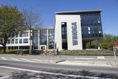 Dortmund, Ruhrgebiet, Nord-Rhein Westfalen, Deutschland - 16. April 2018: WIHOGA-Wirtschaftsschulen für das Hotelgewerbe, Gastron stockfoto