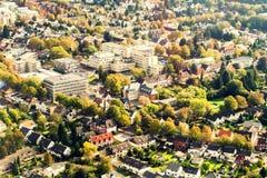 Dortmund Tyskland från över Royaltyfri Bild