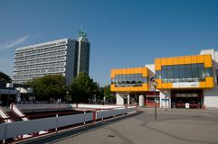 Dortmund University's Mathetower Stock Photos