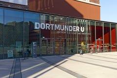 Dortmunder U. Dortmund, Germany - October 11, 2015: Dortmunder U - The art and cultural center of Dortmund Stock Images