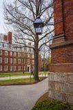 Dortoir à la cour de Harvard de l'Université d'Harvard Image stock