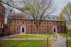 Dortoir dans la cour de Harvard de l'Université d'Harvard Photographie stock
