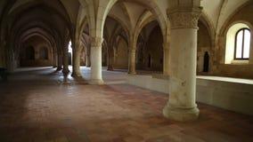 Dortoir de monastère d'Alcobaca clips vidéos