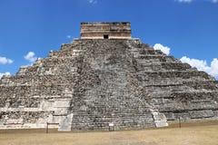 dorwali 2007 castillo chichen itza el pierwszy Meksyku jednego światła światła słonecznego cudów świata Yucatan Fotografia Royalty Free