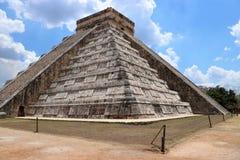 dorwali 2007 castillo chichen itza el pierwszy Meksyku jednego światła światła słonecznego cudów świata Yucatan Obraz Stock