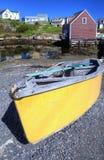 Dory, baia della Peggy, Nuova Scozia Fotografia Stock