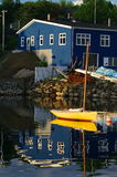 Dory in the Harbour Royalty Free Stock Photo