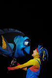 Dory Puppet in the Animal Kingdom Finding Nemo Musical Royalty Free Stock Photography
