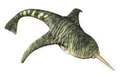 Doryaspis - prähistorischer Fisch Lizenzfreies Stockfoto