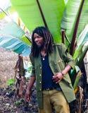 Dorze plemienia mężczyzna - Chencha, Etiopia Zdjęcia Royalty Free