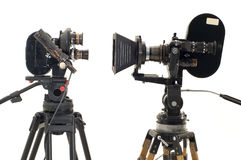 Dos 35?? profesionales del película-compartimiento. Fotografía de archivo