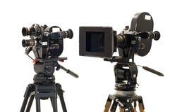 Dos 35?? profesionales del película-compartimiento. Imagenes de archivo