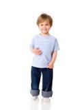 Dos años de muchacho Imagen de archivo
