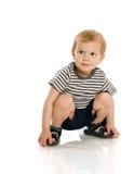 Dos años de muchacho Imagen de archivo libre de regalías