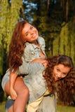 Dos adolescentes Fotos de archivo