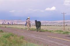 Dos adolescentes del nativo americano Fotografía de archivo libre de regalías
