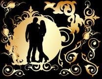 Dos amantes Imagen de archivo libre de regalías