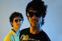 Dos amigos jovenes Fotos de archivo