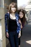 Dos amigos que se unen Imagen de archivo