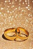 Dos anillos Foto de archivo