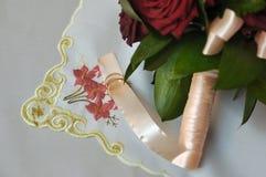 Dos anillos. amor. el casarse Imágenes de archivo libres de regalías