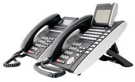 Dos aparatos de teléfono digital Fotografía de archivo libre de regalías