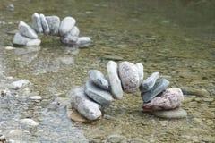 Dos arcos de piedra Foto de archivo