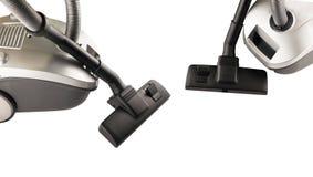 Dos aspiradoras para limpiar Fotografía de archivo