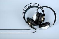 Dos auriculares Imagen de archivo libre de regalías