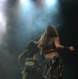 Dos bailarines fotografía de archivo