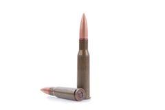 Dos balas del rifle Fotos de archivo