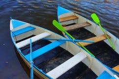 Dos barcos Foto de archivo libre de regalías