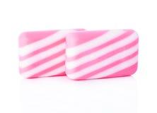 Dos barras del jabón Imagen de archivo libre de regalías