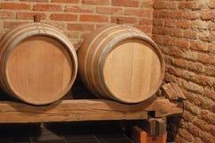 Dos barriles Imagenes de archivo