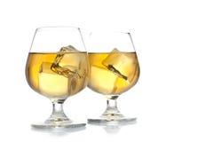 Dos bebidas Imágenes de archivo libres de regalías
