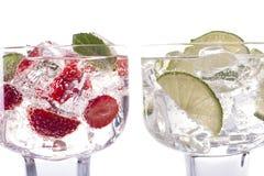 Dos bebidas Fotografía de archivo