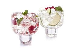 Dos bebidas Imagen de archivo libre de regalías