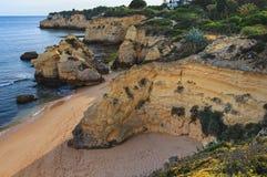 Dos Beijinhos Lagoa do Praia, Portugal Fotos de Stock Royalty Free