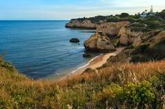 Dos Beijinhos Lagoa do Praia, Portugal Fotos de Stock