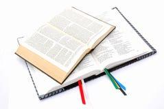 Dos biblias Foto de archivo libre de regalías
