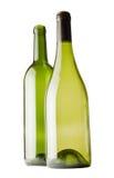 Dos blottles de vino Foto de archivo