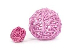 Dos bolas artificiales Fotos de archivo