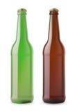 Dos bootles de la cerveza Imagen de archivo