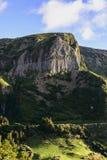 Dos Bordoes de Rochas, ilha de Flores, arquipélago de Açores (Portugal) Fotos de Stock