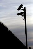 Dos cámaras de vigilancia Imagenes de archivo