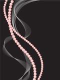 Dos cadenas de perlas Foto de archivo libre de regalías
