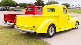 Dos camionetas pickup Fotos de archivo libres de regalías